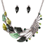 Fashion-Women-Crystal-Chunky-Pendant-Statement-Choker-Bib-Necklace-Jewelry-New miniature 35