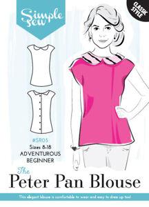 Womens-Ladies-Simple-Sew-Peter-Pan-Sewing-Pattern-Capsule-Collection-UK-8-18