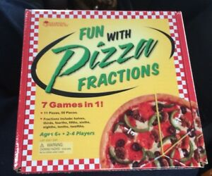 Sealed Learning Resources Fun With Pizza Fractions