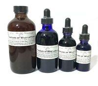 Wild Lettuce Tincture, Extract, Lactuca Virosa, Sleep Aid, Stress, Insomnia