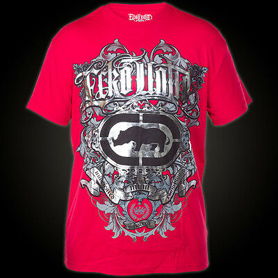 BNWT ECKO MMA UNDEFEATED RED SHIRT M L XL XXL