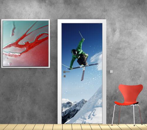 Stickers door skier 776