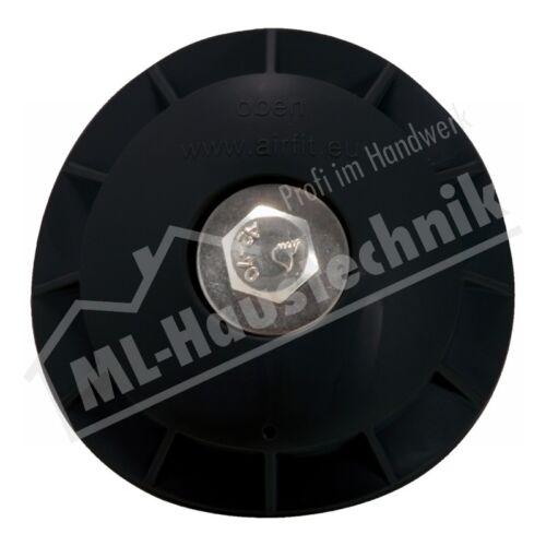 Kantenschutzprofil AIRFIT Rohranbaustopfen DN 110 schwarz  f.100-110mm inkl