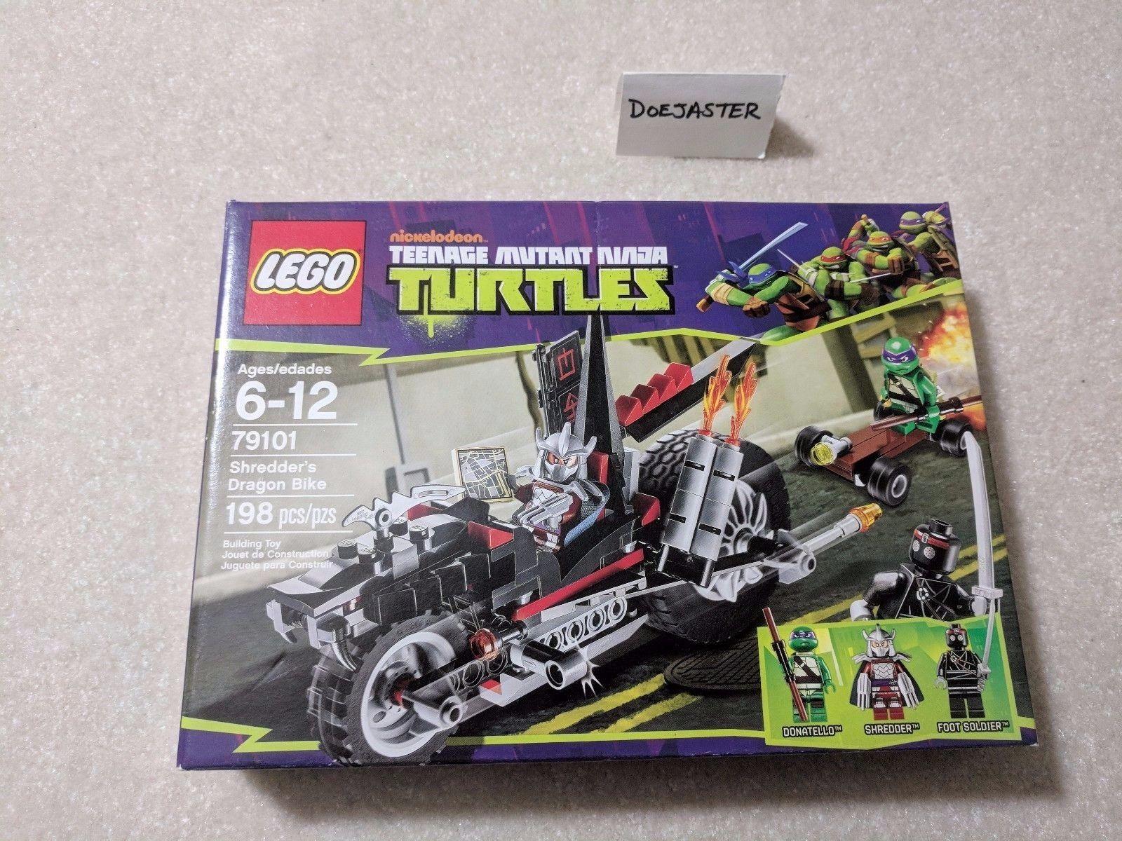 LEGO (79101) ShROTder's Dragon Bike - 2013 - Teenage Mutant Ninja Turtles