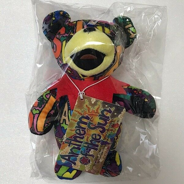 Grateful Dead Japan Exclusive BEAN BEAR Anthem of the Sun Plush Doll Stuffed Toy
