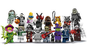 Lego-Minifigure-Figurine-Serie-14-Monster-Fighter-71010-Choose-Minifig-NEW