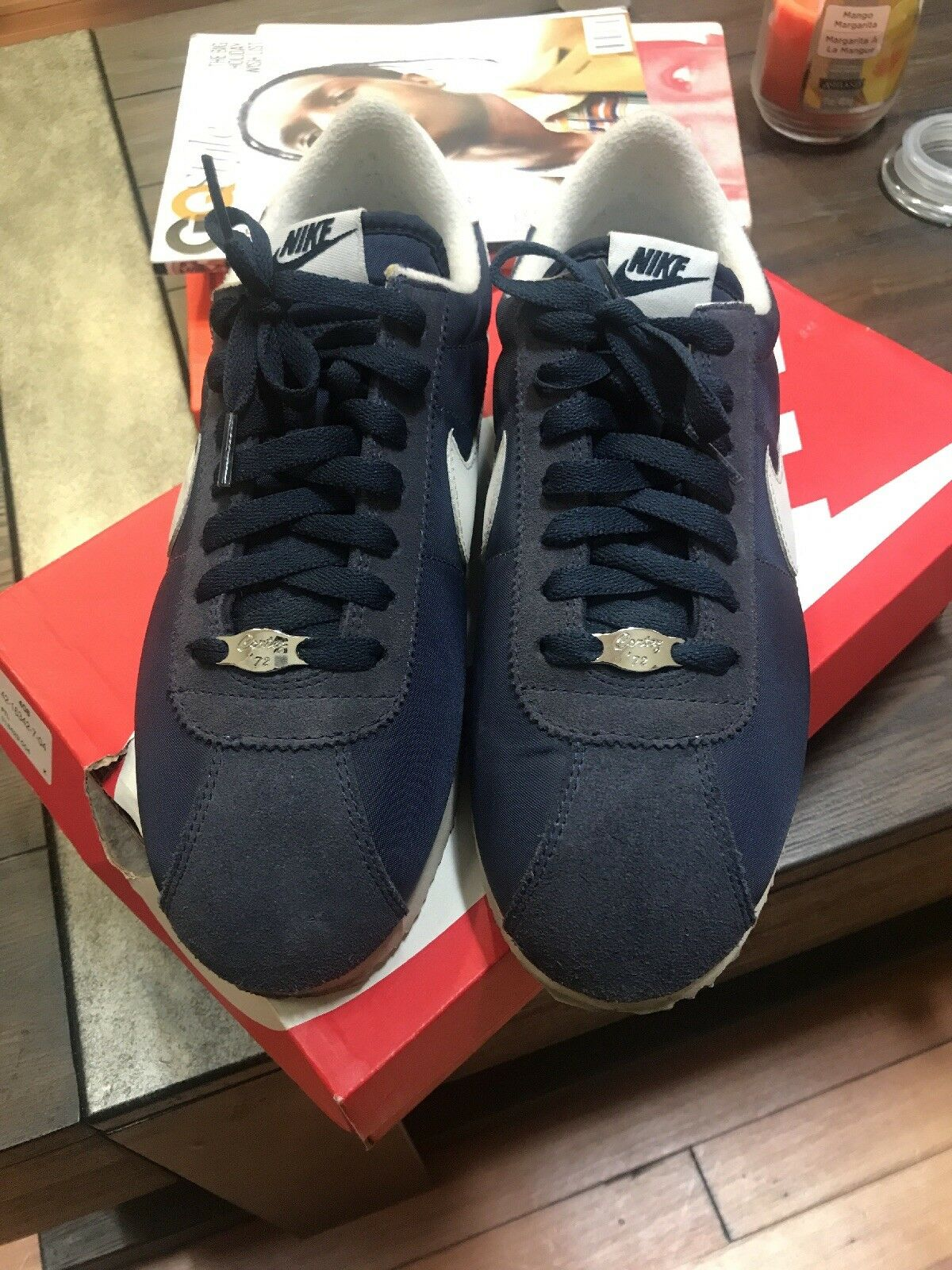 Nike Cortez '72 Navy White Men's