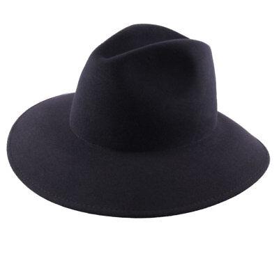 Waterproof foldable felt picture hat wide brim man or