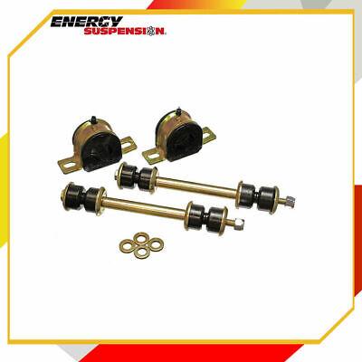 Energy Suspension 8.5142G Sway Bar Bushing Set Fits 4Runner//GX470//Black//Rear
