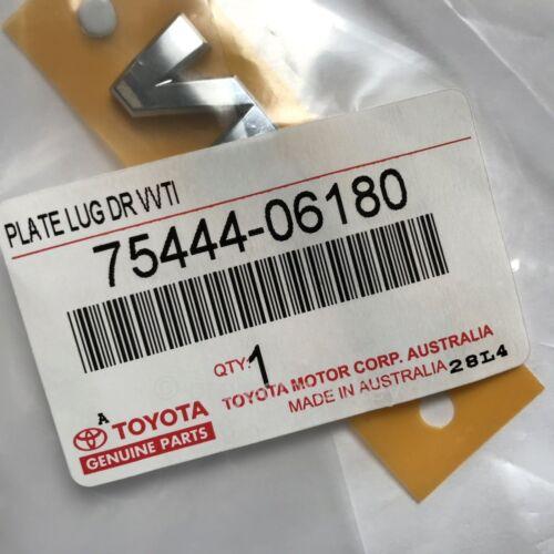 OEM Toyota 75444-06180 VVT-i Logo Chrome Emblem Badge VVTi Engine Genuine JDM