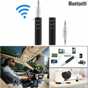 Black-Wireless-Bluetooth-Music-Receiver-Adapter-For-Car-AUX-Headphones-HOT