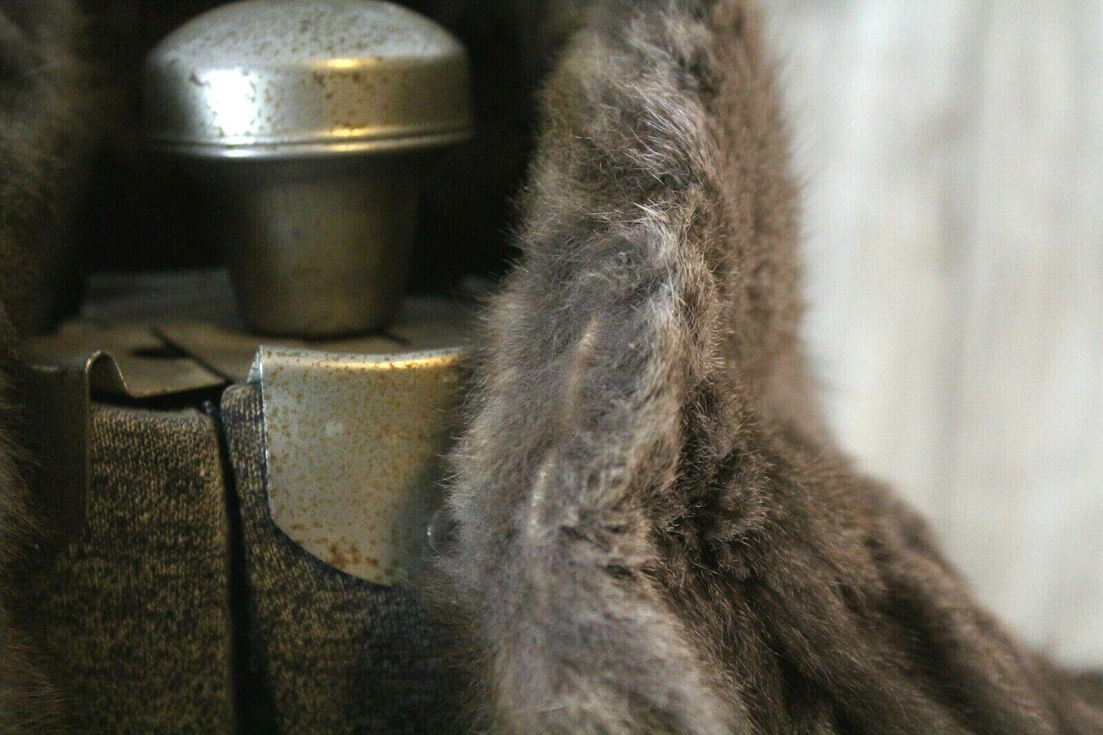 Vintage Goldblatt's Fur Shaw Stole Brown Mink Old… - image 5