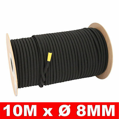 2 x Expanderseil /Ø 8mm L/änge 20 Meter Gummiseil Expander Gummischnur Spannseil Gummi-Leine Planen-Seil