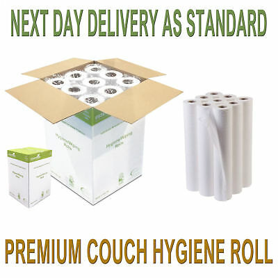 "Cleaning & Janitorial Supplies 12 X White 20"" Couch Rolls Hygiene Rolls Buy 2 Get 10% Off Relieving Heat And Sunstroke Health & Beauty"