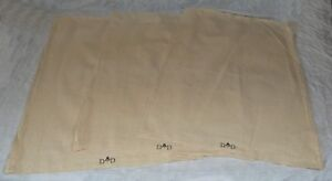 3-x-LARGE-Military-Army-Surplus-Cotton-Calico-Unbleached-Bag-Sacks-Carry-All-NEW