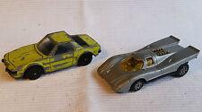 2x alte Spielzeugautos/Vintage toy cars CORGI JUNIORS: Porsche 917 & Fiat XI/9