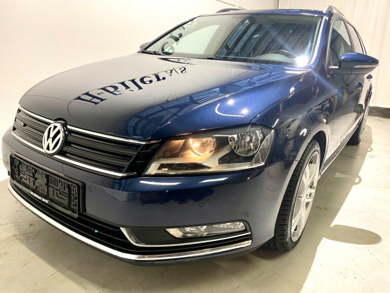VW Passat 1,6 TDi 105 BlueMotion Variant 5d - 119.800 kr.