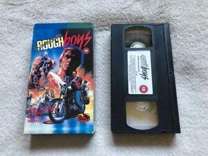 VHS-Tape-Rough-Boys-Biker-Film-1996-Pre-Cert-RARE