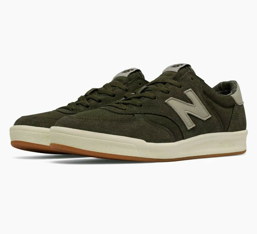 New Balance Men's 300 shoes Green with Off White Size 4
