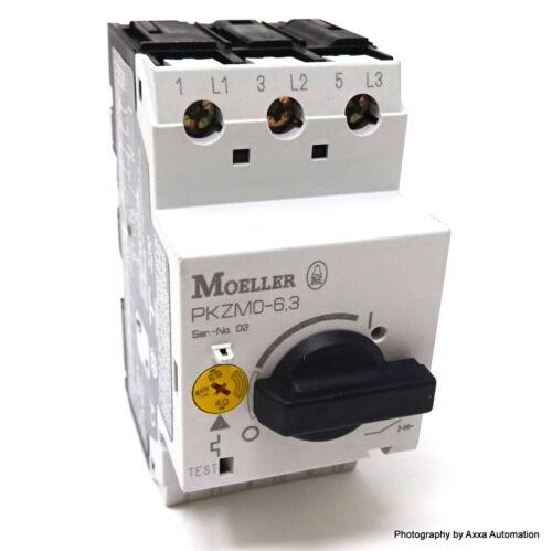 Motor Protector PKZM 0-6.3 Moeller 4-6.3A PKZM 06,3