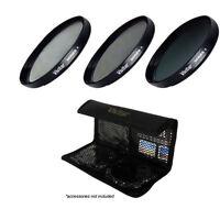 Sony Dsc-hx400 Hi Grade Multi-coated Multi-threaded 3 Pc Lens Filter Kit Hx400