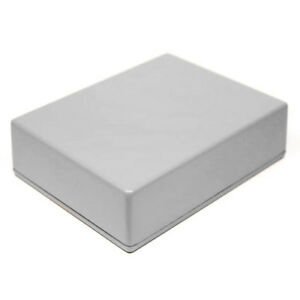 GREY Guitar Pedal Enclosure - professionally painted - Hammond 1590BB size