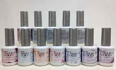 LECHAT Perfect Match MOOD- Color Changing Gel Polish- Set of 12 Colors .5oz