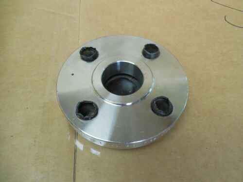 """Details about  /TM 1/"""" Slip-On 4-Bolt Stainless S//S Flange Class 150 F304L 4-1//2/"""" OD New"""