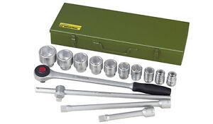 PROXXON-Set-da-15-pezzi-cricchetto-e-bussole-con-attacco-da-3-4-034-19mm-23300