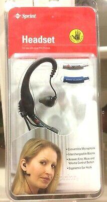 New Sprint Pcs Body Glove Ear Headset Cell Phone Earpiece Spbubc001 Nib Ebay