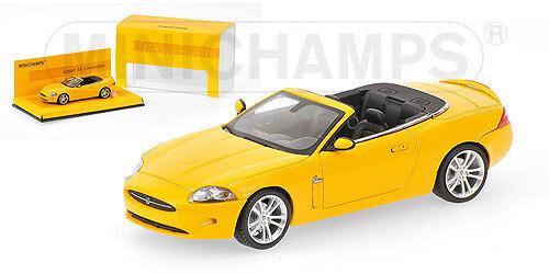 Jaguar XK Cabrio 2005 giallo 1:43 Model MINICHAMPS