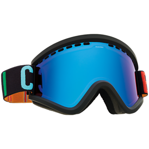 Electric Visual EGV color Wordmark Snowboarding Goggles (Bpink    bluee Chrome)