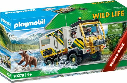 Playmobil 70278 - Expeditionstruck, Nuovo / Conf. Orig.