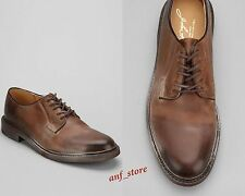 NEW FRYE James Oxford Mens TAN Leather Shoes Size 9.5 $248 Casual Dress