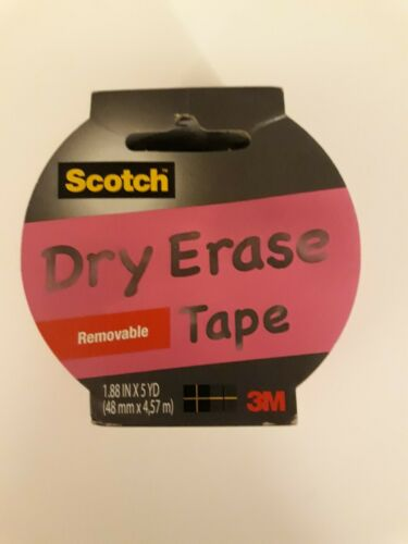 Scothch Pink Dry Erase Removable Tape