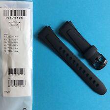 Casio Band Uhrband Ersatzband W-752, W-753, W-755 schwarz Band Strap