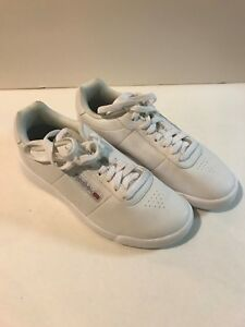 534c99c819 Details about Reebok Princess White Classic Leather Shoes Sneakers Women US  Size 7