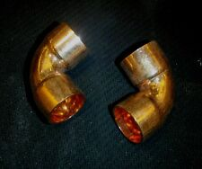 4pc Copper 90 Degree Elbow 12 Type L Tubing 58od Cpel050