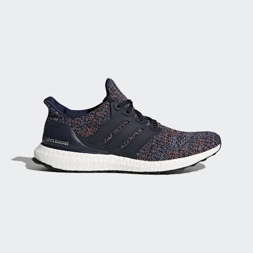 2018 NIB MENS ADIDAS ULTRABOOST SHOES $250 8.5 navy/blue running limited edition
