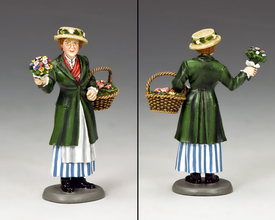 KING KING AND COUNTRY Miss Eliza Doolittle, My Fair Lady WoD042 WoD42 Painted Metal