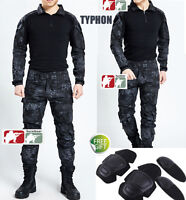Typhon Gen3 G3 Combat Suit Shirt Pants Tactical Airsoft Uniform Ops Swat Kryptek