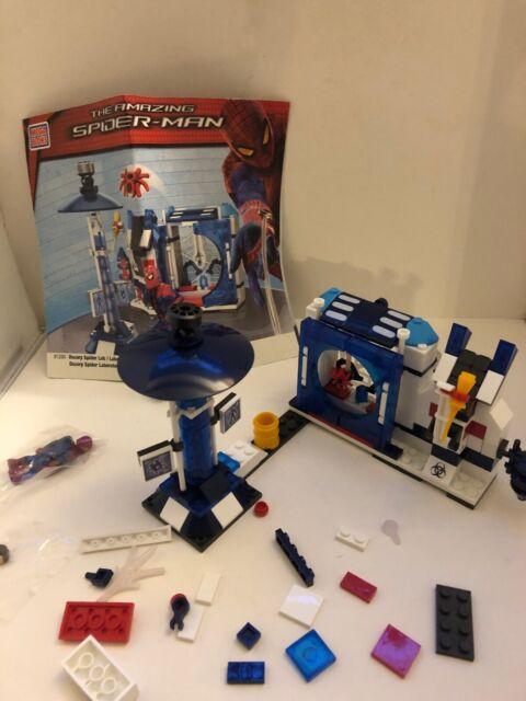 Oscorp Tower Battle 414 pcs Mega Bloks The Amazing Spider Man 91351