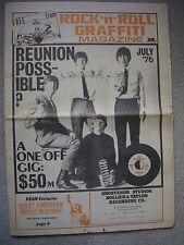 Rock 'n' Roll Graffiti Magazine. July 1976. 20pp. VGC
