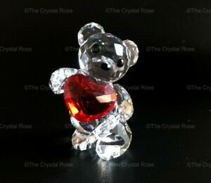 RARE-Retired-Swarovski-Crystal-Kris-Bear-My-Heart-is-Yours-1143463-Mint-Boxed