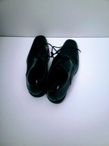 JOSEPH ABBOUD MEN BLACK SHOES PATENT LEADER PRE-OWNED MANY SIZES TO CHOOSE FROM.