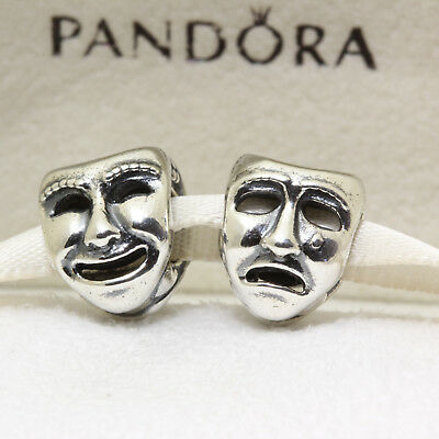 *Authentic Pandora The World's A Stage Bead 791177 Theatre Mask Charm  5700302197457 | eBay