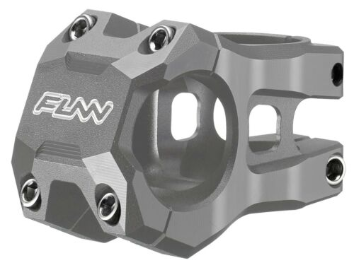 Length 45mm, Gray Bar Clamp 31.8mm Funn Strippa EVO MTB Stem