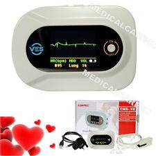 NEW Visual Digital Stethoscope CMS-VE ECG SPO2 PR Electronic Diagnostic + USB