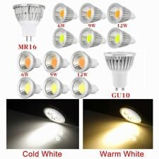 2/5/10x 6W/9W/12W GU10/MR16 COB LED Spotlight Spot Light Down Ligtht Lamp Bulb