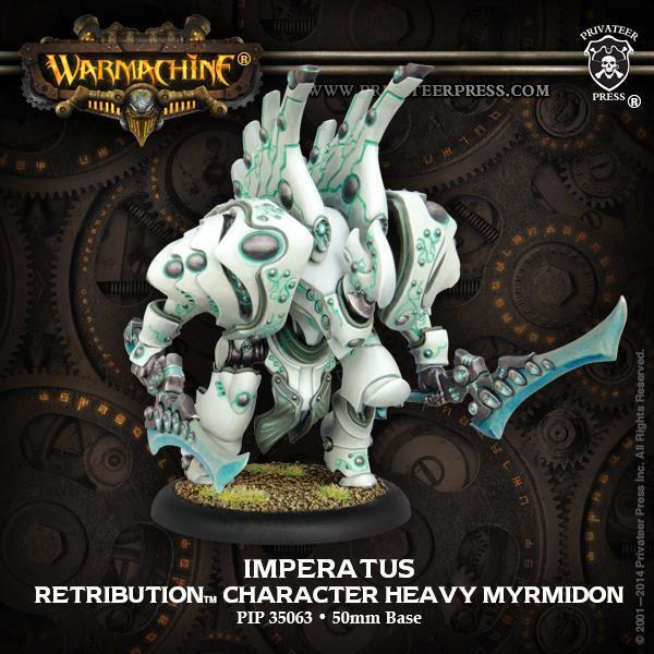 Imperatus Retribution Character Character Heavy Myrmidon PIP 35063